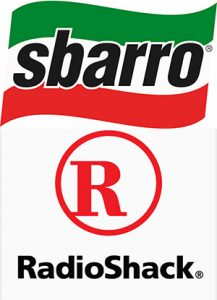 sbarro out of business, radioshack out of business, best new franchises