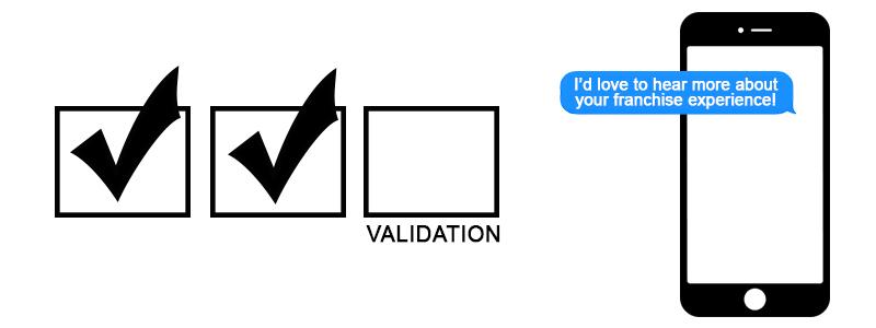 franchise validation calls